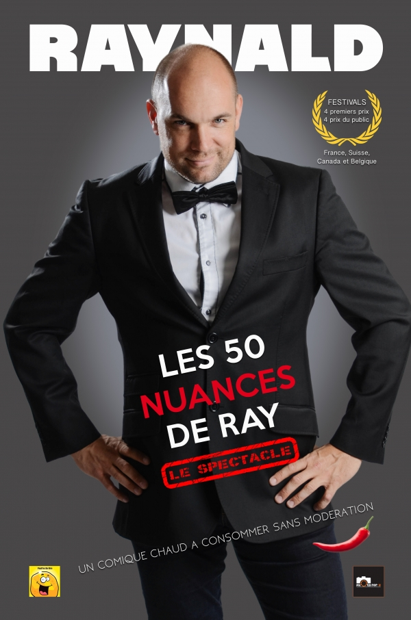 Affiche 50 nuances - spectacle
